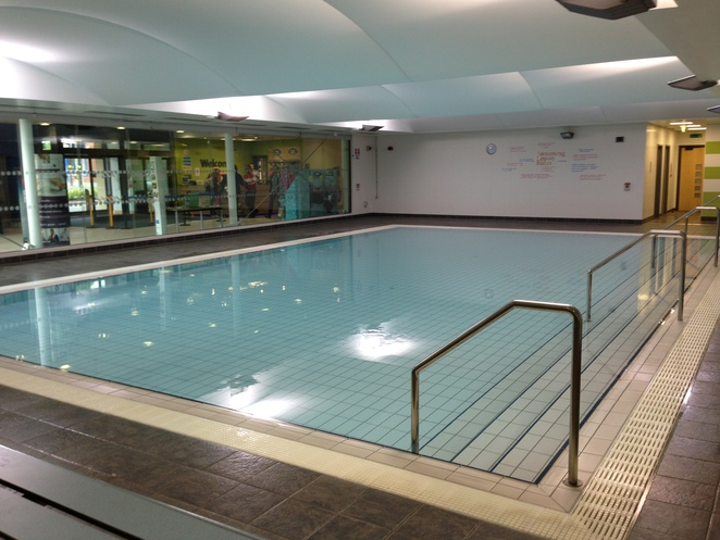 Learner pool, harborne leisure centre,