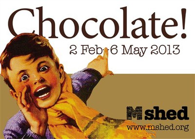 m shed, chocolate
