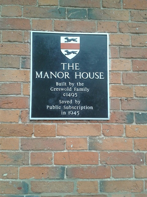 Manor House Cafe, Manor House tea rooms, Manor House Tea Room, Manor House Cottage,