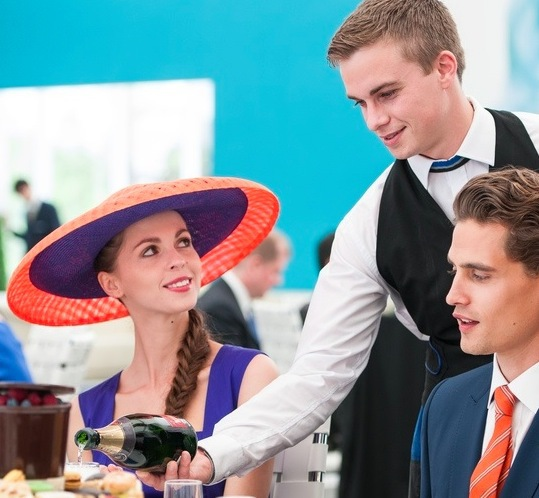 royal ascot, fine dining