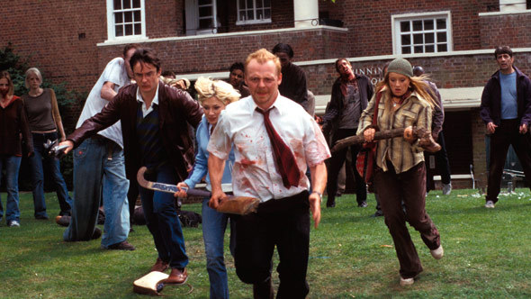 shaun of the dead, bfi