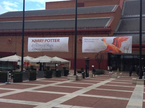 The British library, Harry Potter, a history of magic