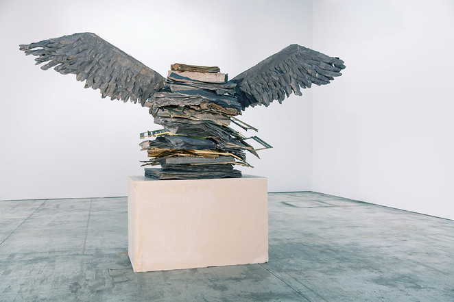 Anselm Kiefer, The Language of the Birds, 2013, royal academy of arts