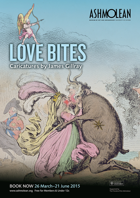 gillray, love bites, ashmolean, oxford