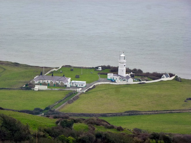 Isle of Wight St Catherines LIghthouse Coastal Path