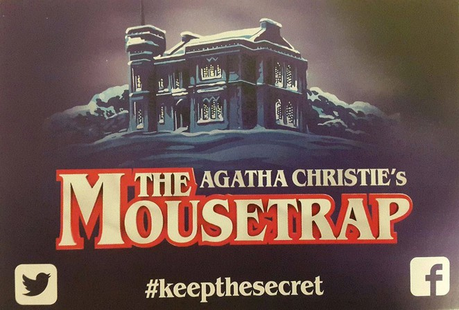 mousetrap, murder, mystery, agatha, agatha christie, christie, the mousetrap, london, hatfield, herts, hertfordshire, theatre, st martins, play, whodunit, cluedo