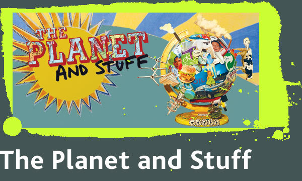 Polka Theatre, the planet and stuff