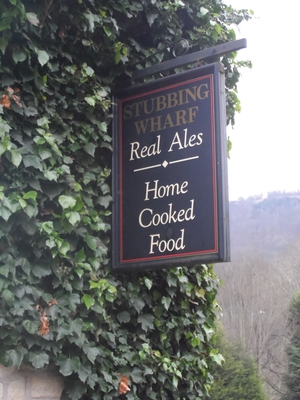 Stubbing Wharf Inn,Hebden Bridge,Real ale