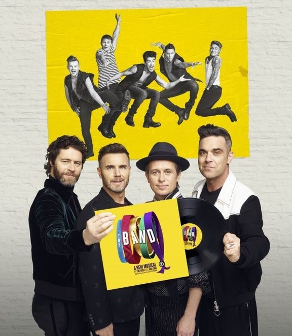 Take that musical, the Band, five to five , Birmingham hippodrome