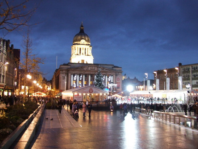 things to do in nottingham, nottingham christmas ideas
