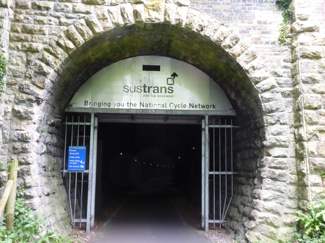 Tunnel entrance