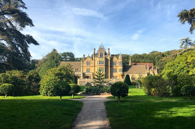 tyntesfield house,national trust,bristol,england