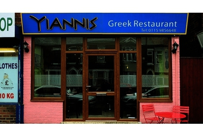 Yiannis Greek Restaurant in Nottingham