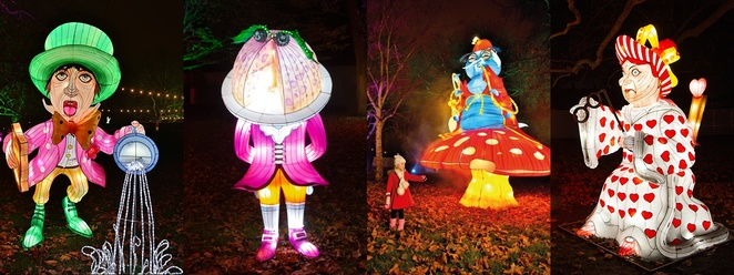Alice in Winterland, Southwark Park, London