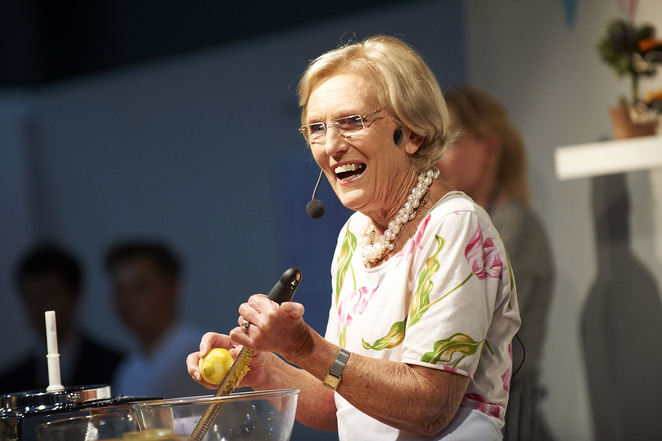 Cake International, Mary Berry