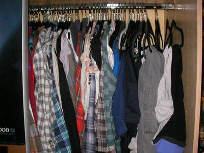 clothes, wardrobe