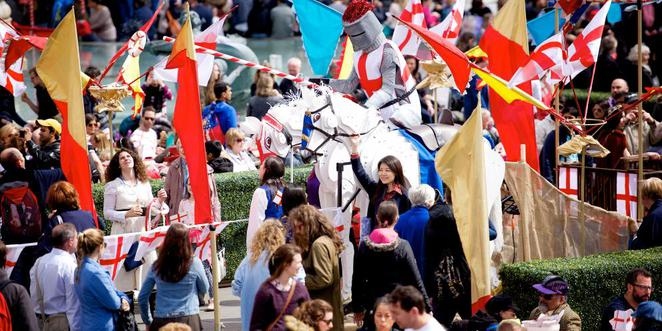 Feast of St George London