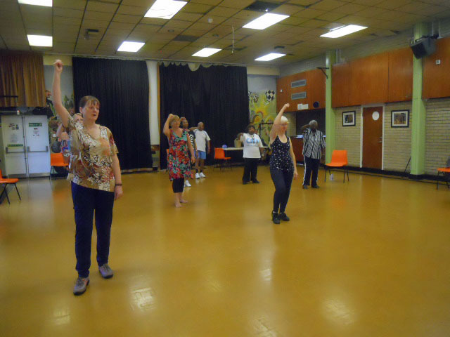 get up and go, south mitcham community centre, line dancing