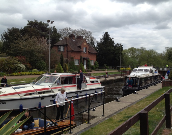 Hambleden Lock and Cottage