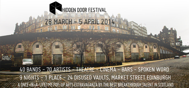 Hidden Door Festival, festival, hidden door, Edinburgh festival