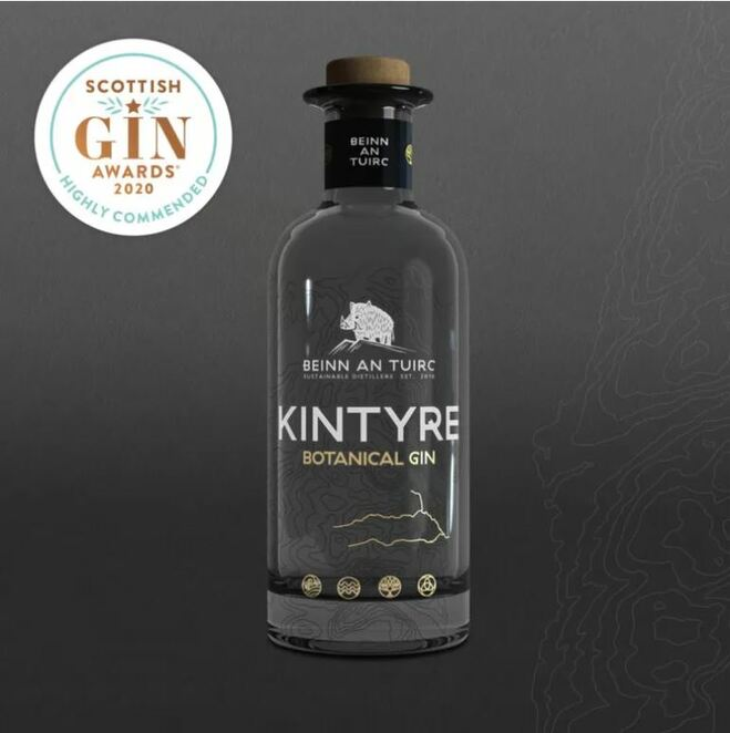 kintyre gin, easter food and drink