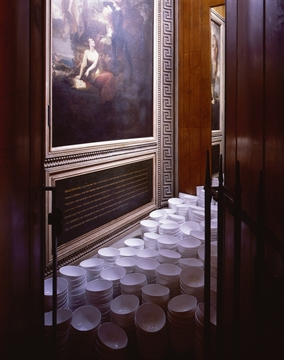 Marking the line: Ceramics and Architecture, john soane museum