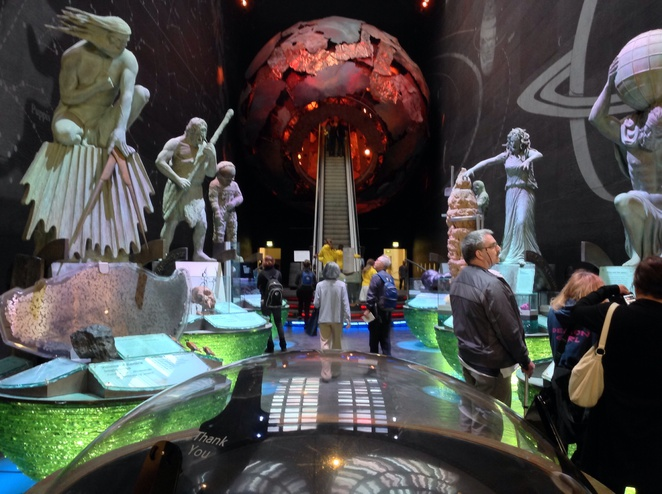 Natural history museum, London, geology, our earth