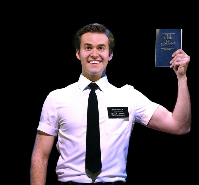 The book of Mormon UK tour, birmingham Hippodrome,