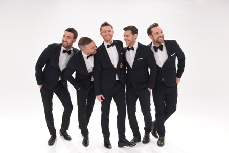 The Overtones, Timmy Matley, Lachie Chapman, Mike Crawshaw, Mark Franks, Darren Everest, Warwick Arts Centre Coventry, Happy Days