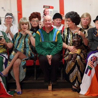an audience with Pieter Dirk uys, soho theatre