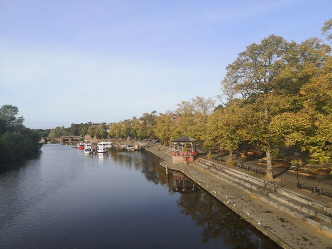 chester, River Dee, staycation guide, uk holidays. Photo Alison Brinkworth