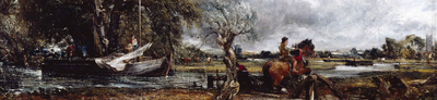 john constable, leaping horse