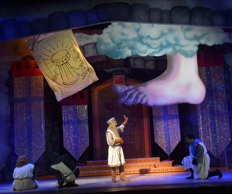 Monty Python's Spamalot, Monty Python and the Holy Grail, New Alexandra Theatre Birmingham, Theatre Review, Birmingham Comedy Festival, Bob Harms, Sarah Harlington