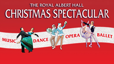 royal albert hall, christmas spectacular