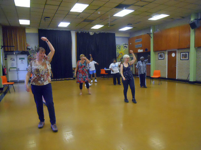 south mitcham Community Centre, get up and go, line dancing