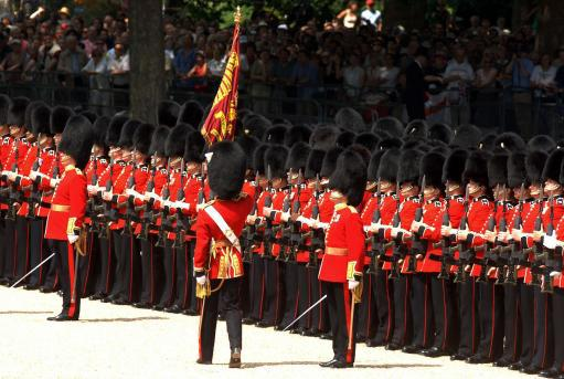 Trooping the Colour: The Queen's Birthday Parade - London