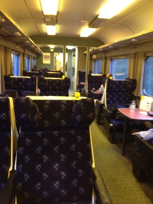 caledonian sleeper train lounge (c) JP Mundy