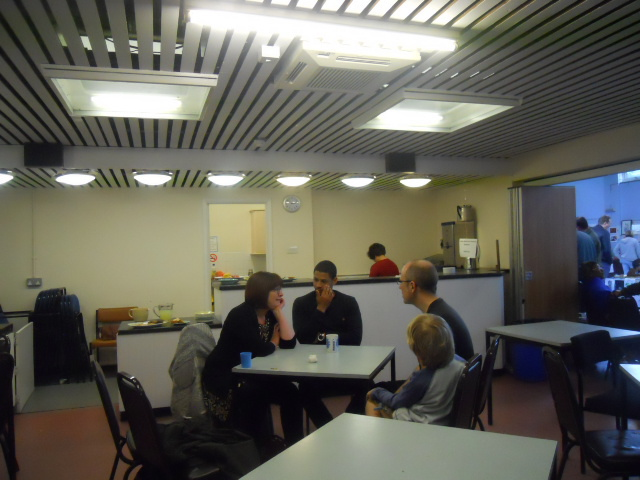 colliers wood community centre, cafe