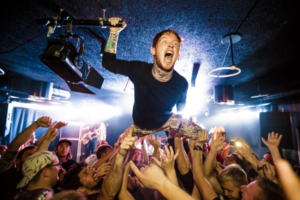 Frank Carter & the Rattlesnakes, O2 Institute Birmingham, Sailor Jerry, tattoos