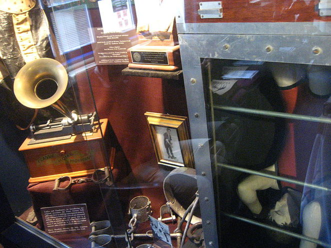 Houdini's Cabinet at The Magic Circle