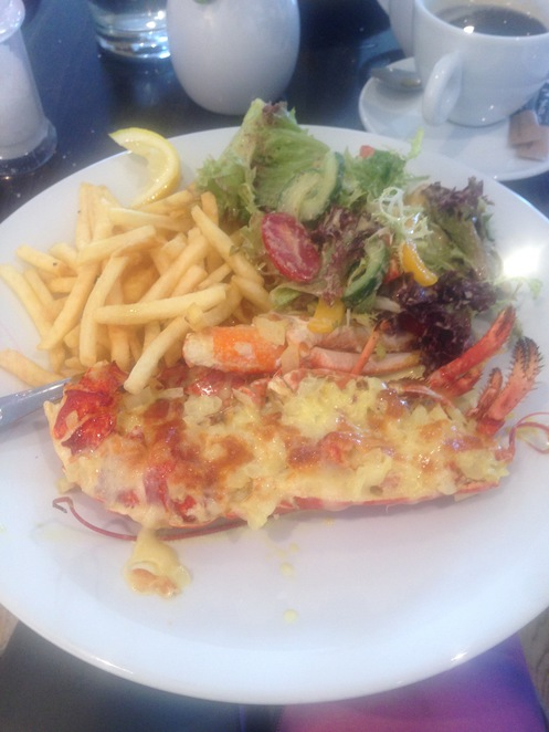 Lobster Thermidor Whitby