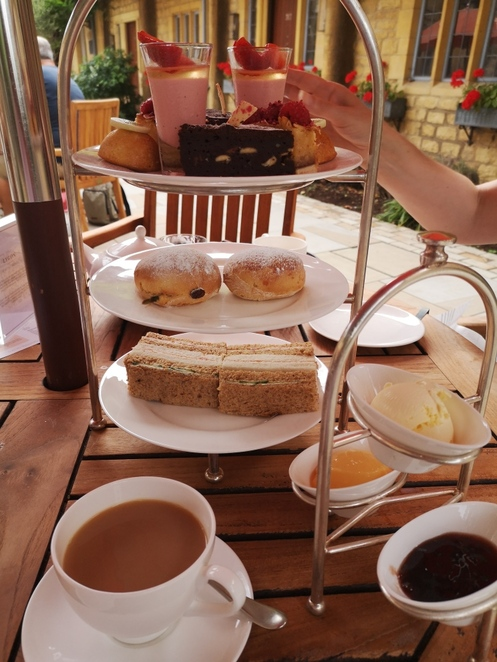 lygon afternoon tea. photo Alison Brinkworth