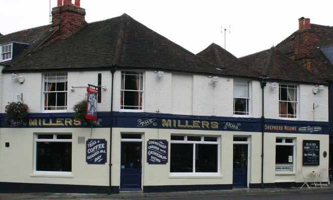 Millers Arms, pub in Canterbury