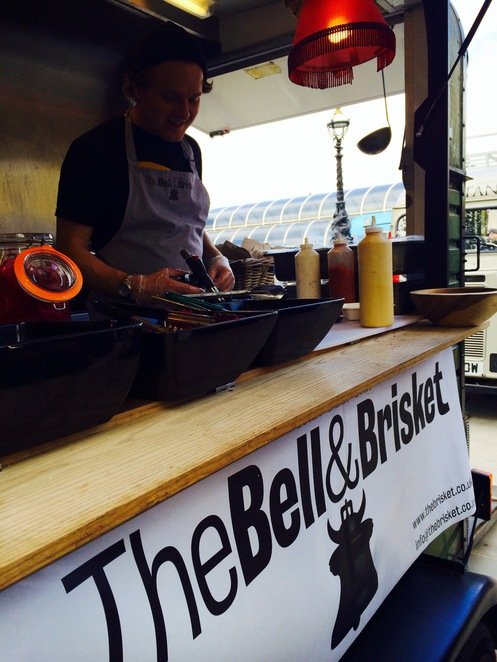 the bell and brisket, south bank food, food review london, south bank food vans, south bank street food, salt beef bagel south london, burgers in london, burgers, south bank eats