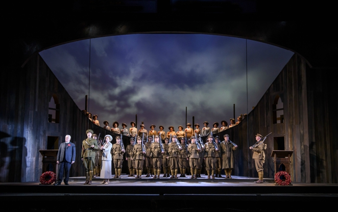 In Parenthesis, WNO, Welsh National Opera, Birmingham hippodrome, review