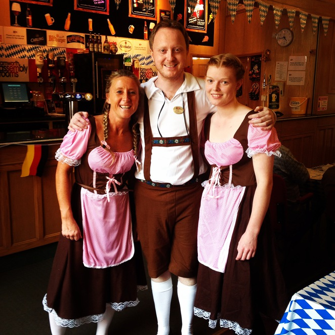 Oktoberfest, Tamworth Beer Festival, Tamworth Assembly Rooms