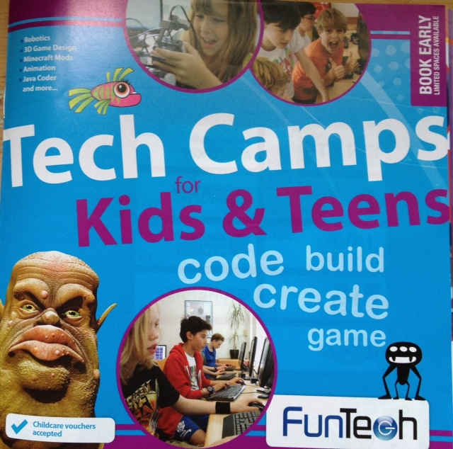 Summer camp, kids, children, teens, technology, childcare