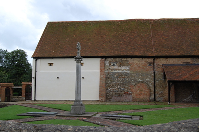 The exterior of Prittlewell Priory museum.