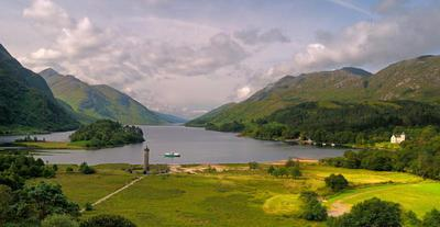 Glenfinnan, on the Road to the Isles (Source: Road to the Isles website)