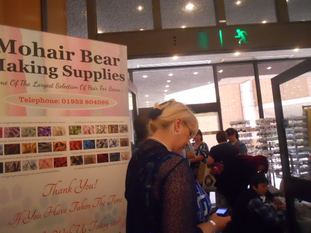 hugglets, kensington town hall, teddies winter bearfest, mohair bear making supplies
